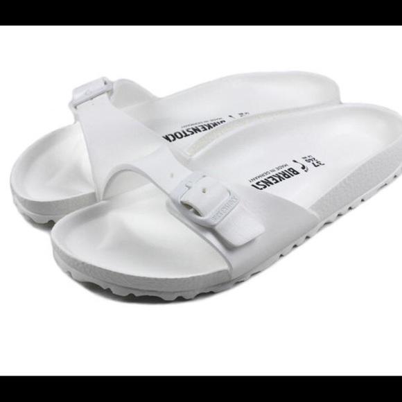 White Croc Birkenstocks | Poshmark